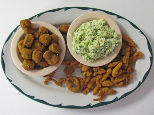 Clam Strips Dinner
